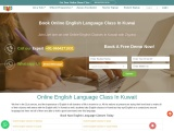 Get the world's most popular spoken English class in Kuwait