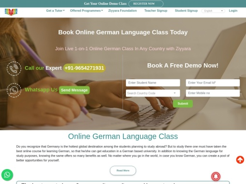 Book Online German Language Class Today