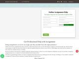 Online Tutoring for Biology Assignment Help