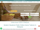 Get your Own online home tuition in Malaysia at anywhere.