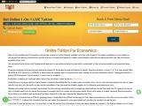 Home Tuition for Economics | Online Tuition for Economics