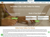 Online Home Tuition For History