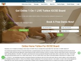 Get Online Home Tuition For IGCSE board