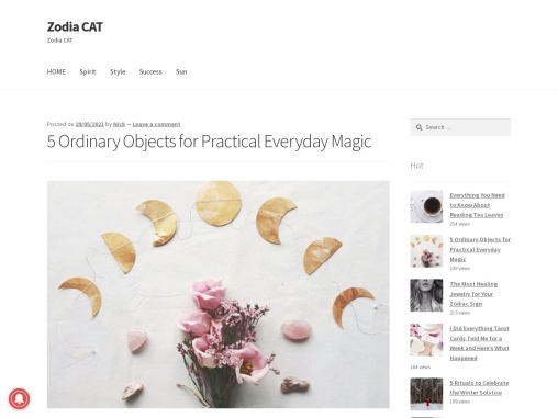 5 Ordinary Objects for Practical Everyday Magic