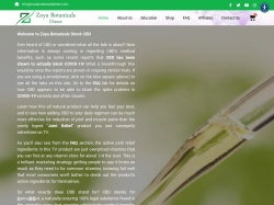 Zoya Botanicals Direct Cbd screenshot