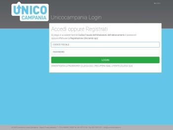 Unicocampania login