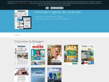 Athesia epaper - Dolomiten, Wiku, Markt, Magazin, Radius ...