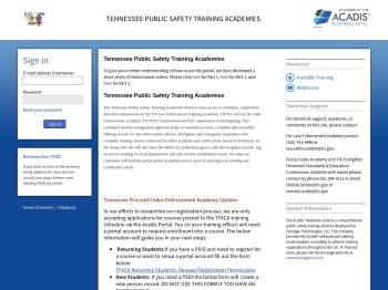 Available Training - Acadis® Portal