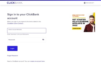Sign In | ClickBank - ClickBank login
