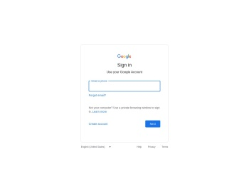 Email - Sign in - Google Accounts
