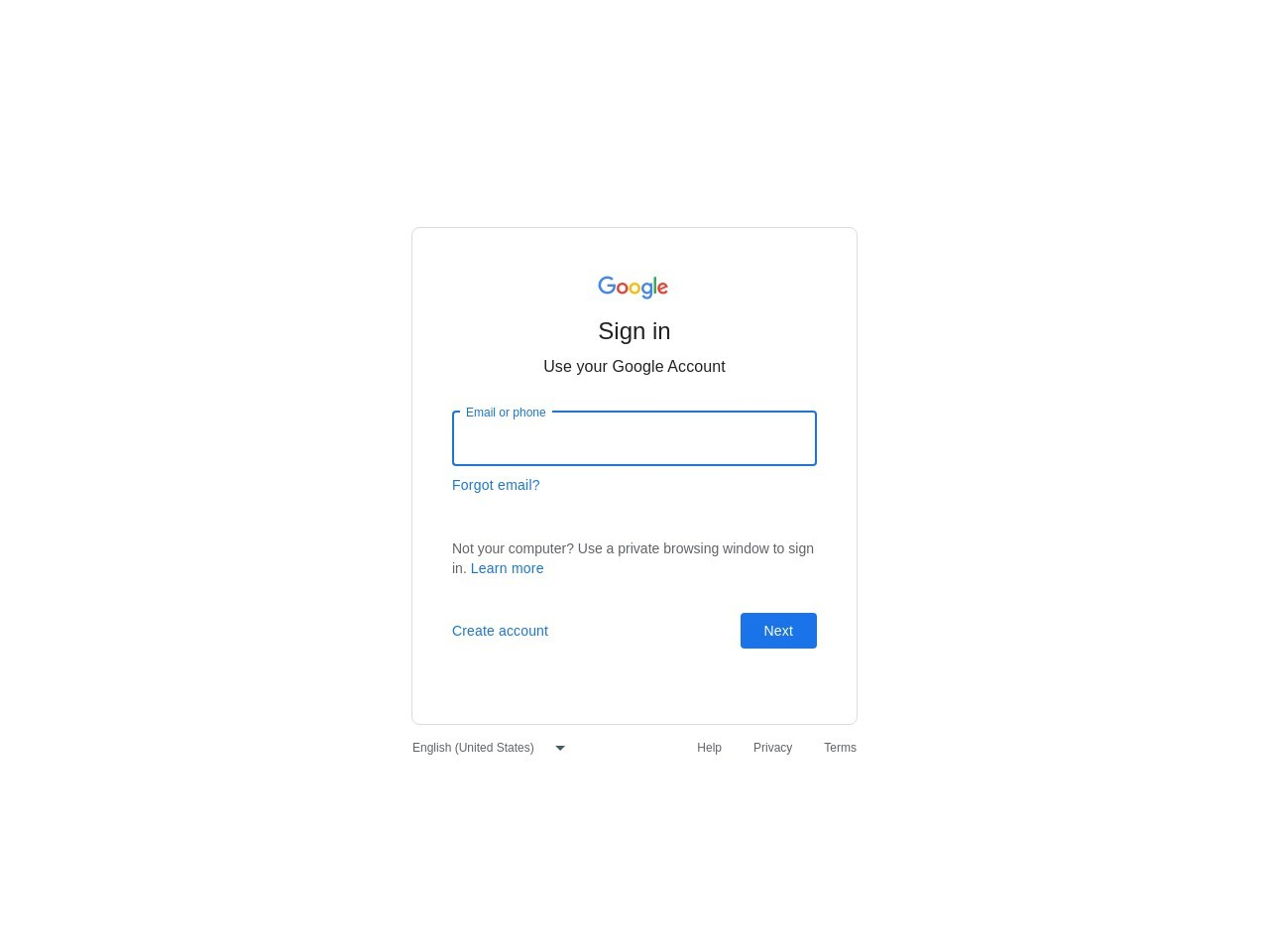 Login Gmail In Computer