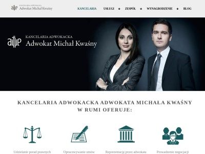 Adwokat Michał Kwaśny - Kancelaria Adwokacka Rumia Reda Wejherowo