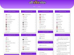 All XXX Sites screenshot