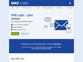 GMX Login - ganz einfach