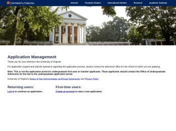 Application Management - University of Virginia