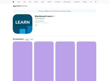 Blackboard 4+ - App Store - Apple