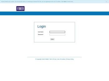 FIMER Web Portal -