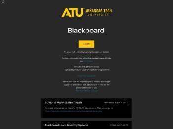 Blackboard Learn - Arkansas Tech University