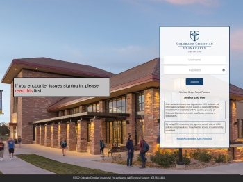 Blackboard - Colorado Christian University
