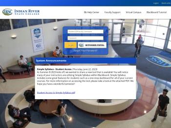 IRSC Blackboard - Indian River State College