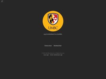 UMBC blackboard