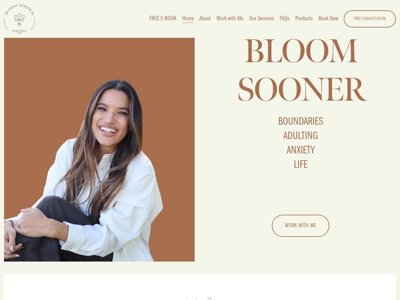 White website