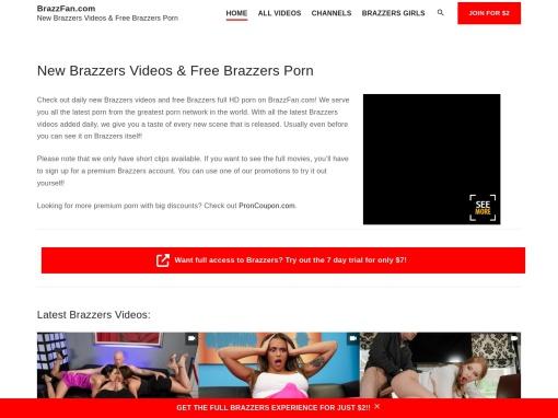 BrazzFan.com screenshot