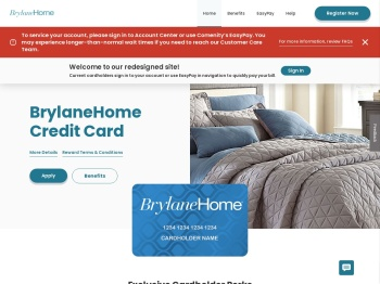 BrylaneHome Credit Card - Manage your account - Comenity