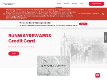 Runwayrewards Credit Card - Home - Comenity