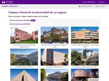 Campus Virtual de la Universidad de La Laguna - CV ULL