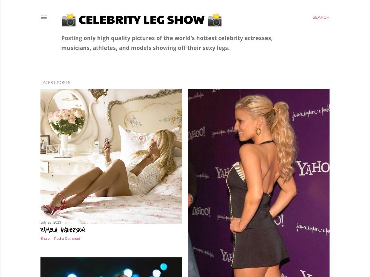 Showing Sexy Leg