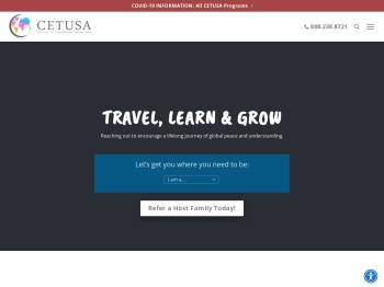 CETUSA - International Exchange Programs and Host Family ...