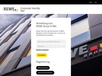 REWE Group-CI-Net: Login