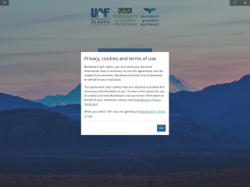 UAA Blackboard - University of Alaska System