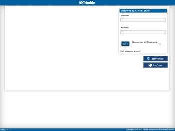 Login - TMW Systems Client Center