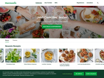 Cookidoo® – das offizielle Thermomix®-Rezept-Portal