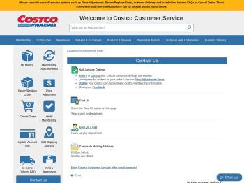 Contact Us - Costco Customer Service - Costco Wholesale