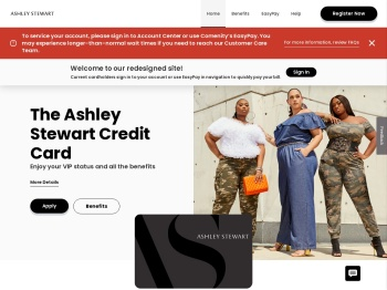 Ashley Stewart Credit Card - Manage your account - Comenity