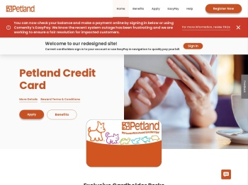 Petland Credit Card - Manage your account - Comenity