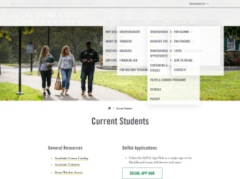 Current Students | Delaware Valley University