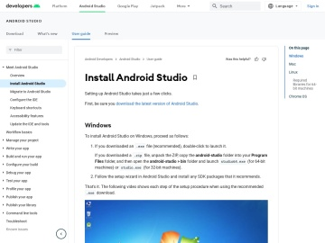 Install Android Studio | Android Studio