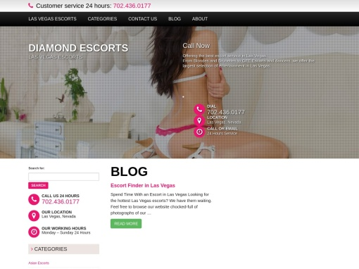 Diamond Escorts screenshot