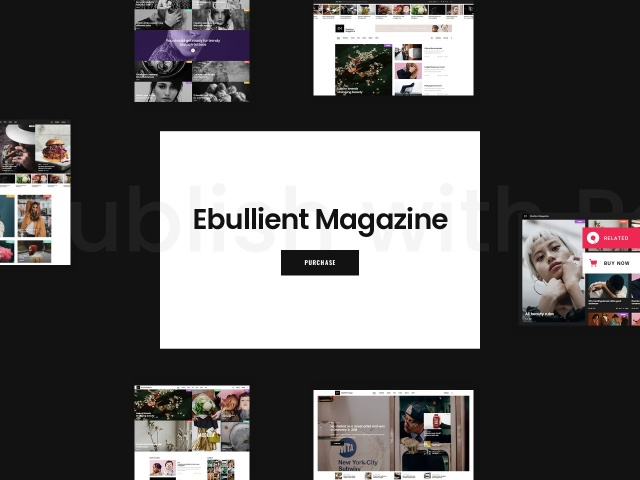 Ebullient - A Modern News and Magazine Theme Screenshots