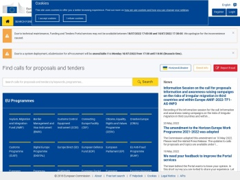Funding & Tenders Portal - European Commission