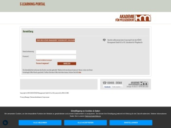 E-Learning-Portal - HÖHER Management GmbH