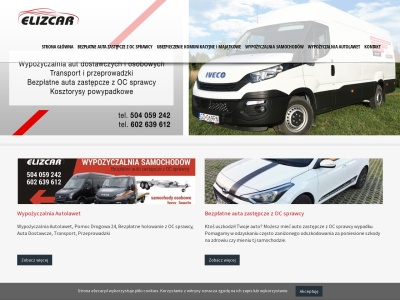 Auta zastępcze z OC sprawcy, wypożyczalnia samochodów Lębork