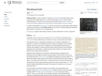 Blackboard bold - Wikipedia
