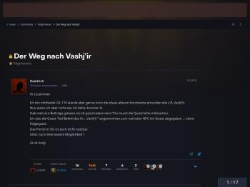 Der Weg nach Vashj'ir - Allgemeines - World of Warcraft Forums