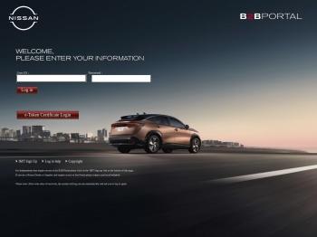 Nissan European B2B Portal