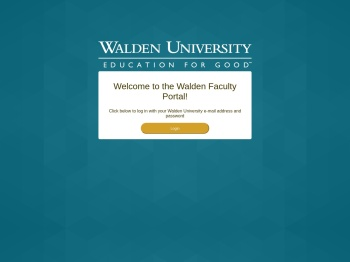 the Walden University Faculty Portal!
